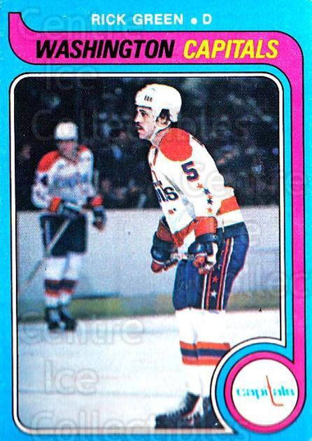 1979-80 O-pee-chee #309 Rick Green<br/>1 In Stock - $2.00 each - <a href=https://centericecollectibles.foxycart.com/cart?name=1979-80%20O-pee-chee%20%23309%20Rick%20Green...&quantity_max=1&price=$2.00&code=272275 class=foxycart> Buy it now! </a>