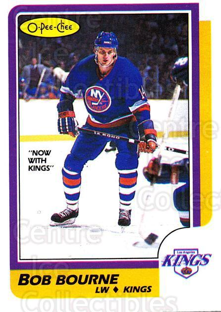 1986-87 O-Pee-Chee #14 Bob Bourne<br/>2 In Stock - $1.00 each - <a href=https://centericecollectibles.foxycart.com/cart?name=1986-87%20O-Pee-Chee%20%2314%20Bob%20Bourne...&quantity_max=2&price=$1.00&code=272365 class=foxycart> Buy it now! </a>