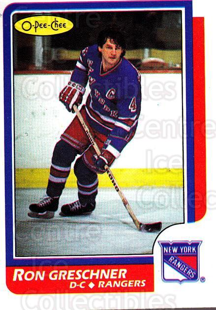 1986-87 O-Pee-Chee #18 Ron Greschner<br/>5 In Stock - $1.00 each - <a href=https://centericecollectibles.foxycart.com/cart?name=1986-87%20O-Pee-Chee%20%2318%20Ron%20Greschner...&quantity_max=5&price=$1.00&code=272366 class=foxycart> Buy it now! </a>