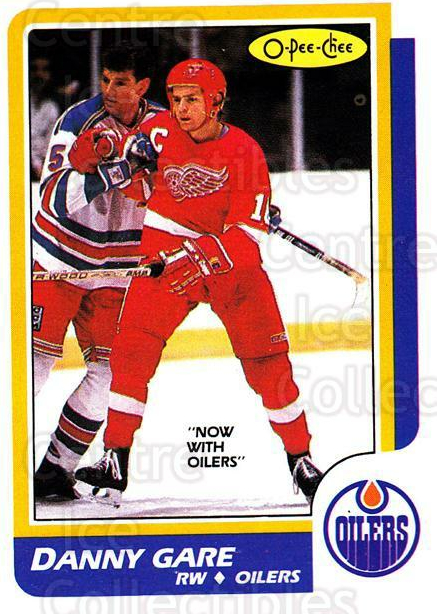 1986-87 O-Pee-Chee #69 Danny Gare<br/>3 In Stock - $1.00 each - <a href=https://centericecollectibles.foxycart.com/cart?name=1986-87%20O-Pee-Chee%20%2369%20Danny%20Gare...&quantity_max=3&price=$1.00&code=272386 class=foxycart> Buy it now! </a>