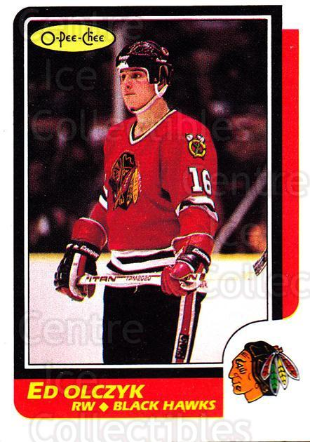 1986-87 O-Pee-Chee #82 Ed Olczyk<br/>5 In Stock - $1.00 each - <a href=https://centericecollectibles.foxycart.com/cart?name=1986-87%20O-Pee-Chee%20%2382%20Ed%20Olczyk...&quantity_max=5&price=$1.00&code=272394 class=foxycart> Buy it now! </a>