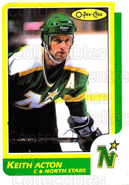 1986-87 O-Pee-Chee #172 Keith Acton<br/>2 In Stock - $1.00 each - <a href=https://centericecollectibles.foxycart.com/cart?name=1986-87%20O-Pee-Chee%20%23172%20Keith%20Acton...&quantity_max=2&price=$1.00&code=272420 class=foxycart> Buy it now! </a>