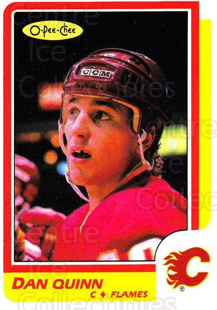 1986-87 O-Pee-Chee #204 Dan Quinn<br/>4 In Stock - $1.00 each - <a href=https://centericecollectibles.foxycart.com/cart?name=1986-87%20O-Pee-Chee%20%23204%20Dan%20Quinn...&quantity_max=4&price=$1.00&code=272429 class=foxycart> Buy it now! </a>