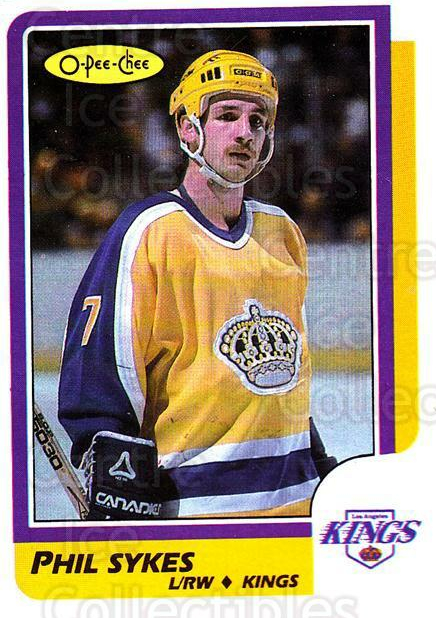 1986-87 O-Pee-Chee #216 Phil Sykes<br/>1 In Stock - $1.00 each - <a href=https://centericecollectibles.foxycart.com/cart?name=1986-87%20O-Pee-Chee%20%23216%20Phil%20Sykes...&quantity_max=1&price=$1.00&code=272440 class=foxycart> Buy it now! </a>