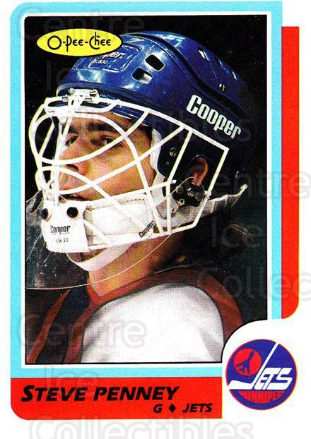 1986-87 O-Pee-Chee #222 Steve Penney<br/>4 In Stock - $1.00 each - <a href=https://centericecollectibles.foxycart.com/cart?name=1986-87%20O-Pee-Chee%20%23222%20Steve%20Penney...&quantity_max=4&price=$1.00&code=272446 class=foxycart> Buy it now! </a>