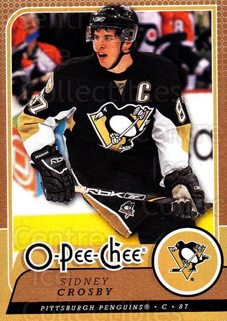 2008-09 O-Pee-chee #18 Sidney Crosby<br/>1 In Stock - $3.00 each - <a href=https://centericecollectibles.foxycart.com/cart?name=2008-09%20O-Pee-chee%20%2318%20Sidney%20Crosby...&quantity_max=1&price=$3.00&code=272508 class=foxycart> Buy it now! </a>