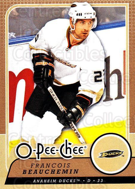 2008-09 O-Pee-chee #36 Francois Beauchemin<br/>5 In Stock - $1.00 each - <a href=https://centericecollectibles.foxycart.com/cart?name=2008-09%20O-Pee-chee%20%2336%20Francois%20Beauch...&quantity_max=5&price=$1.00&code=272526 class=foxycart> Buy it now! </a>