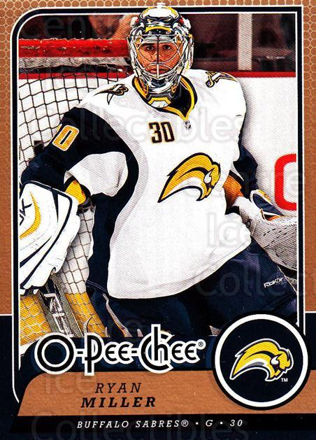 2008-09 O-Pee-chee #53 Ryan Miller<br/>5 In Stock - $1.00 each - <a href=https://centericecollectibles.foxycart.com/cart?name=2008-09%20O-Pee-chee%20%2353%20Ryan%20Miller...&quantity_max=5&price=$1.00&code=272543 class=foxycart> Buy it now! </a>