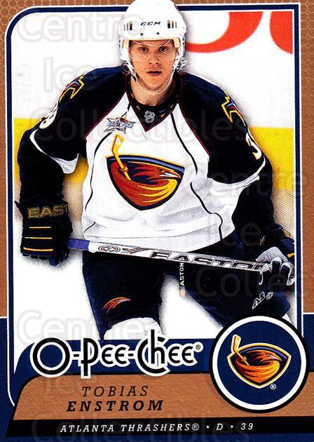 2008-09 O-Pee-chee #54 Tobias Enstrom<br/>5 In Stock - $1.00 each - <a href=https://centericecollectibles.foxycart.com/cart?name=2008-09%20O-Pee-chee%20%2354%20Tobias%20Enstrom...&quantity_max=5&price=$1.00&code=272544 class=foxycart> Buy it now! </a>