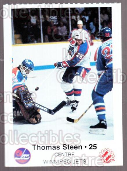 1984-85 Winnipeg Jets Police #19 Thomas Steen<br/>3 In Stock - $3.00 each - <a href=https://centericecollectibles.foxycart.com/cart?name=1984-85%20Winnipeg%20Jets%20Police%20%2319%20Thomas%20Steen...&quantity_max=3&price=$3.00&code=27256 class=foxycart> Buy it now! </a>
