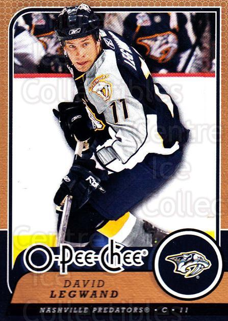 2008-09 O-Pee-chee #85 David Legwand<br/>5 In Stock - $1.00 each - <a href=https://centericecollectibles.foxycart.com/cart?name=2008-09%20O-Pee-chee%20%2385%20David%20Legwand...&quantity_max=5&price=$1.00&code=272575 class=foxycart> Buy it now! </a>