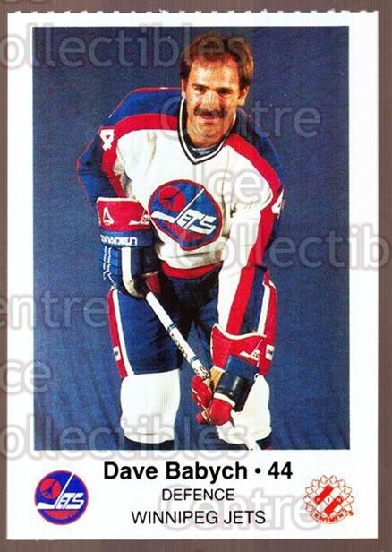 1984-85 Winnipeg Jets Police #2 Dave Babych<br/>5 In Stock - $3.00 each - <a href=https://centericecollectibles.foxycart.com/cart?name=1984-85%20Winnipeg%20Jets%20Police%20%232%20Dave%20Babych...&quantity_max=5&price=$3.00&code=27257 class=foxycart> Buy it now! </a>