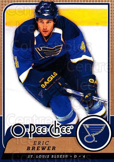 2008-09 O-Pee-chee #116 Eric Brewer<br/>5 In Stock - $1.00 each - <a href=https://centericecollectibles.foxycart.com/cart?name=2008-09%20O-Pee-chee%20%23116%20Eric%20Brewer...&quantity_max=5&price=$1.00&code=272606 class=foxycart> Buy it now! </a>