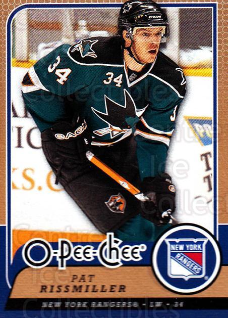 2008-09 O-Pee-chee #117 Pat Rissmiller<br/>2 In Stock - $1.00 each - <a href=https://centericecollectibles.foxycart.com/cart?name=2008-09%20O-Pee-chee%20%23117%20Pat%20Rissmiller...&quantity_max=2&price=$1.00&code=272607 class=foxycart> Buy it now! </a>