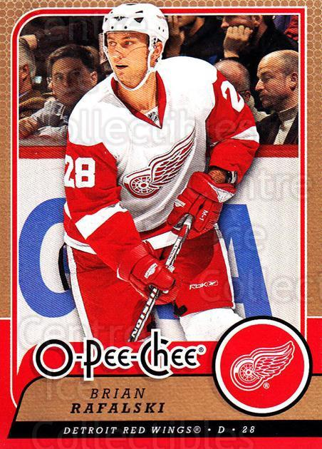 2008-09 O-Pee-chee #124 Brian Rafalski<br/>5 In Stock - $1.00 each - <a href=https://centericecollectibles.foxycart.com/cart?name=2008-09%20O-Pee-chee%20%23124%20Brian%20Rafalski...&quantity_max=5&price=$1.00&code=272614 class=foxycart> Buy it now! </a>