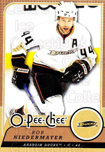 2008-09 O-Pee-chee #125 Rob Niedermayer<br/>3 In Stock - $1.00 each - <a href=https://centericecollectibles.foxycart.com/cart?name=2008-09%20O-Pee-chee%20%23125%20Rob%20Niedermayer...&quantity_max=3&price=$1.00&code=272615 class=foxycart> Buy it now! </a>