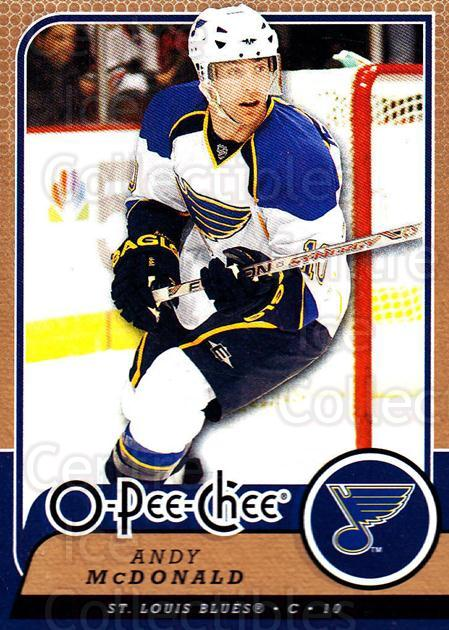 2008-09 O-Pee-chee #135 Andy McDonald<br/>5 In Stock - $1.00 each - <a href=https://centericecollectibles.foxycart.com/cart?name=2008-09%20O-Pee-chee%20%23135%20Andy%20McDonald...&quantity_max=5&price=$1.00&code=272625 class=foxycart> Buy it now! </a>
