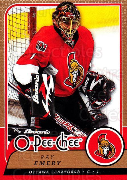 2008-09 O-Pee-chee #156 Ray Emery<br/>3 In Stock - $1.00 each - <a href=https://centericecollectibles.foxycart.com/cart?name=2008-09%20O-Pee-chee%20%23156%20Ray%20Emery...&quantity_max=3&price=$1.00&code=272646 class=foxycart> Buy it now! </a>
