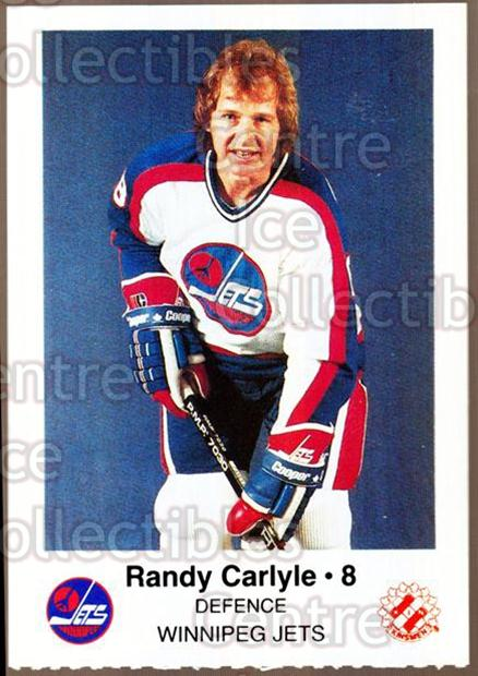 1984-85 Winnipeg Jets Police #5 Randy Carlyle<br/>5 In Stock - $3.00 each - <a href=https://centericecollectibles.foxycart.com/cart?name=1984-85%20Winnipeg%20Jets%20Police%20%235%20Randy%20Carlyle...&quantity_max=5&price=$3.00&code=27264 class=foxycart> Buy it now! </a>