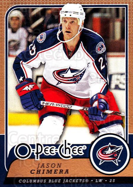 2008-09 O-Pee-chee #163 Jason Chimera<br/>5 In Stock - $1.00 each - <a href=https://centericecollectibles.foxycart.com/cart?name=2008-09%20O-Pee-chee%20%23163%20Jason%20Chimera...&quantity_max=5&price=$1.00&code=272653 class=foxycart> Buy it now! </a>