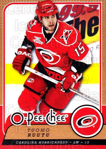 2008-09 O-Pee-chee #164 Tuomo Ruutu<br/>5 In Stock - $1.00 each - <a href=https://centericecollectibles.foxycart.com/cart?name=2008-09%20O-Pee-chee%20%23164%20Tuomo%20Ruutu...&quantity_max=5&price=$1.00&code=272654 class=foxycart> Buy it now! </a>