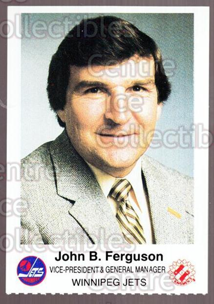 1984-85 Winnipeg Jets Police #7 John Ferguson<br/>3 In Stock - $3.00 each - <a href=https://centericecollectibles.foxycart.com/cart?name=1984-85%20Winnipeg%20Jets%20Police%20%237%20John%20Ferguson...&price=$3.00&code=27266 class=foxycart> Buy it now! </a>