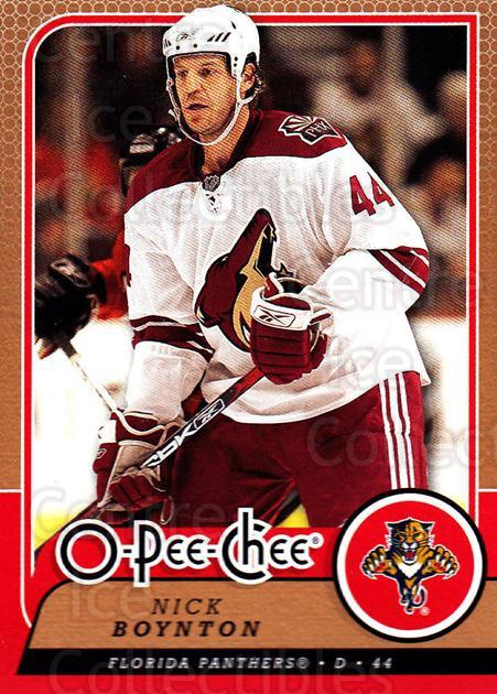 2008-09 O-Pee-chee #207 Nick Boynton<br/>6 In Stock - $1.00 each - <a href=https://centericecollectibles.foxycart.com/cart?name=2008-09%20O-Pee-chee%20%23207%20Nick%20Boynton...&quantity_max=6&price=$1.00&code=272697 class=foxycart> Buy it now! </a>