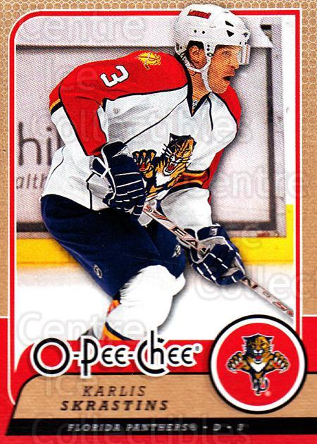2008-09 O-Pee-chee #213 Karlis Skrastins<br/>4 In Stock - $1.00 each - <a href=https://centericecollectibles.foxycart.com/cart?name=2008-09%20O-Pee-chee%20%23213%20Karlis%20Skrastin...&quantity_max=4&price=$1.00&code=272703 class=foxycart> Buy it now! </a>