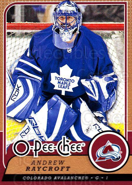 2008-09 O-Pee-chee #249 Andrew Raycroft<br/>4 In Stock - $1.00 each - <a href=https://centericecollectibles.foxycart.com/cart?name=2008-09%20O-Pee-chee%20%23249%20Andrew%20Raycroft...&quantity_max=4&price=$1.00&code=272739 class=foxycart> Buy it now! </a>
