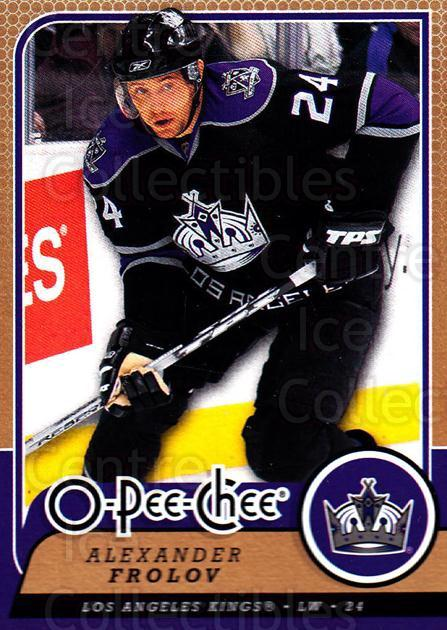 2008-09 O-Pee-chee #261 Alexander Frolov<br/>6 In Stock - $1.00 each - <a href=https://centericecollectibles.foxycart.com/cart?name=2008-09%20O-Pee-chee%20%23261%20Alexander%20Frolo...&quantity_max=6&price=$1.00&code=272751 class=foxycart> Buy it now! </a>