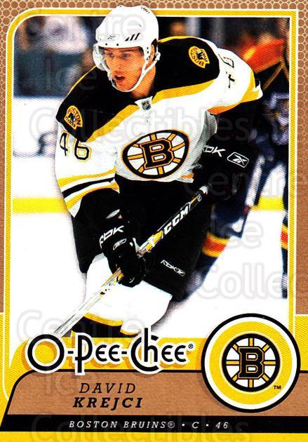 2008-09 O-Pee-chee #276 David Krejci<br/>6 In Stock - $1.00 each - <a href=https://centericecollectibles.foxycart.com/cart?name=2008-09%20O-Pee-chee%20%23276%20David%20Krejci...&quantity_max=6&price=$1.00&code=272766 class=foxycart> Buy it now! </a>