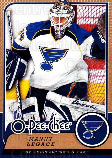 2008-09 O-Pee-chee #281 Manny Legace<br/>6 In Stock - $1.00 each - <a href=https://centericecollectibles.foxycart.com/cart?name=2008-09%20O-Pee-chee%20%23281%20Manny%20Legace...&quantity_max=6&price=$1.00&code=272771 class=foxycart> Buy it now! </a>