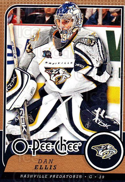 2008-09 O-Pee-chee #299 Dan Ellis<br/>4 In Stock - $1.00 each - <a href=https://centericecollectibles.foxycart.com/cart?name=2008-09%20O-Pee-chee%20%23299%20Dan%20Ellis...&quantity_max=4&price=$1.00&code=272789 class=foxycart> Buy it now! </a>