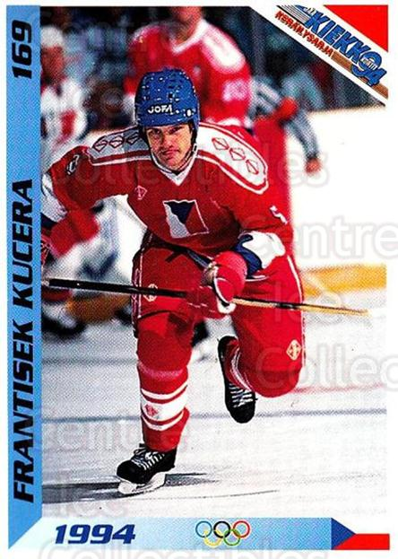 1994 Finnish Jaa Kiekko #169 Frantisek Kucera<br/>1 In Stock - $2.00 each - <a href=https://centericecollectibles.foxycart.com/cart?name=1994%20Finnish%20Jaa%20Kiekko%20%23169%20Frantisek%20Kucer...&quantity_max=1&price=$2.00&code=2727 class=foxycart> Buy it now! </a>