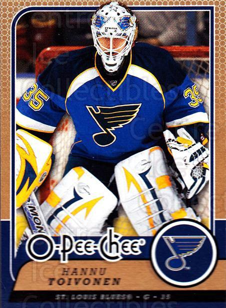 2008-09 O-Pee-chee #321 Hannu Toivonen<br/>1 In Stock - $1.00 each - <a href=https://centericecollectibles.foxycart.com/cart?name=2008-09%20O-Pee-chee%20%23321%20Hannu%20Toivonen...&quantity_max=1&price=$1.00&code=272811 class=foxycart> Buy it now! </a>