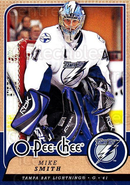 2008-09 O-Pee-chee #338 Mike Smith<br/>6 In Stock - $1.00 each - <a href=https://centericecollectibles.foxycart.com/cart?name=2008-09%20O-Pee-chee%20%23338%20Mike%20Smith...&quantity_max=6&price=$1.00&code=272828 class=foxycart> Buy it now! </a>
