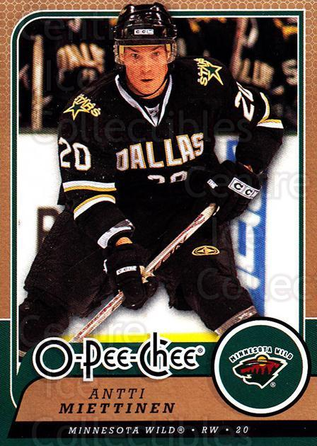 2008-09 O-Pee-chee #406 Antti Miettinen<br/>5 In Stock - $1.00 each - <a href=https://centericecollectibles.foxycart.com/cart?name=2008-09%20O-Pee-chee%20%23406%20Antti%20Miettinen...&quantity_max=5&price=$1.00&code=272896 class=foxycart> Buy it now! </a>