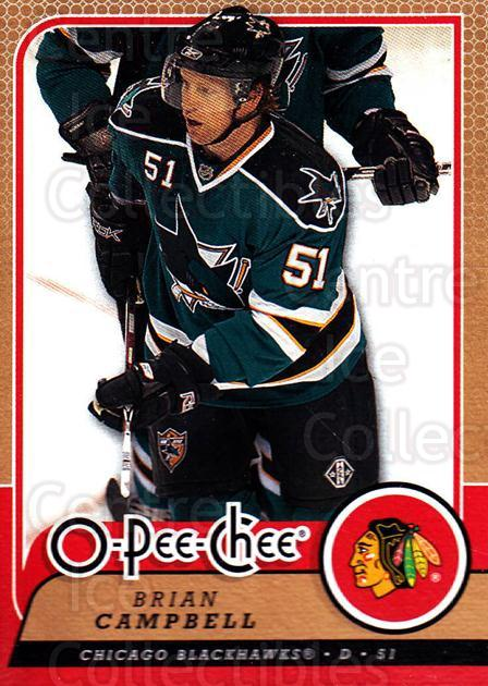 2008-09 O-Pee-chee #415 Brian Campbell<br/>6 In Stock - $1.00 each - <a href=https://centericecollectibles.foxycart.com/cart?name=2008-09%20O-Pee-chee%20%23415%20Brian%20Campbell...&quantity_max=6&price=$1.00&code=272905 class=foxycart> Buy it now! </a>