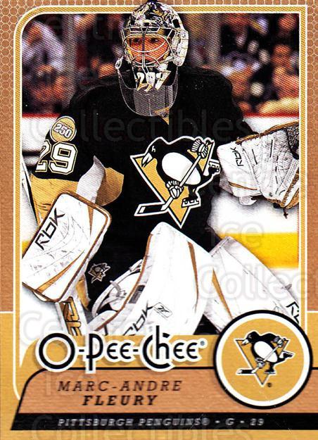 2008-09 O-Pee-chee #416 Marc-Andre Fleury<br/>5 In Stock - $2.00 each - <a href=https://centericecollectibles.foxycart.com/cart?name=2008-09%20O-Pee-chee%20%23416%20Marc-Andre%20Fleu...&quantity_max=5&price=$2.00&code=272906 class=foxycart> Buy it now! </a>
