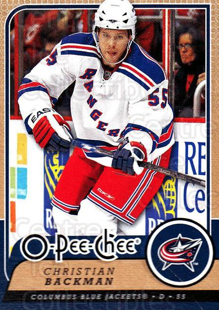 2008-09 O-Pee-chee #422 Christian Backman<br/>6 In Stock - $1.00 each - <a href=https://centericecollectibles.foxycart.com/cart?name=2008-09%20O-Pee-chee%20%23422%20Christian%20Backm...&quantity_max=6&price=$1.00&code=272912 class=foxycart> Buy it now! </a>