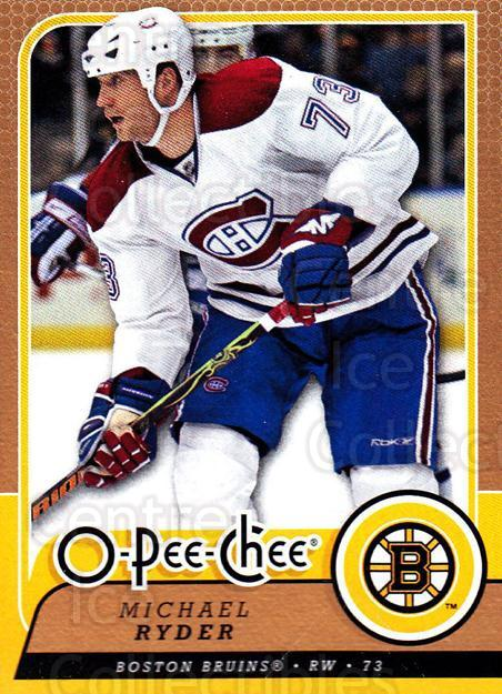 2008-09 O-Pee-chee #446 Michael Ryder<br/>6 In Stock - $1.00 each - <a href=https://centericecollectibles.foxycart.com/cart?name=2008-09%20O-Pee-chee%20%23446%20Michael%20Ryder...&quantity_max=6&price=$1.00&code=272936 class=foxycart> Buy it now! </a>