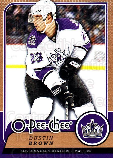 2008-09 O-Pee-chee #483 Dustin Brown<br/>5 In Stock - $1.00 each - <a href=https://centericecollectibles.foxycart.com/cart?name=2008-09%20O-Pee-chee%20%23483%20Dustin%20Brown...&quantity_max=5&price=$1.00&code=272973 class=foxycart> Buy it now! </a>