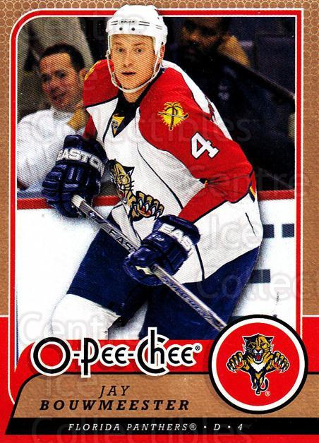 2008-09 O-Pee-chee #493 Jay Bouwmeester<br/>6 In Stock - $1.00 each - <a href=https://centericecollectibles.foxycart.com/cart?name=2008-09%20O-Pee-chee%20%23493%20Jay%20Bouwmeester...&quantity_max=6&price=$1.00&code=272983 class=foxycart> Buy it now! </a>