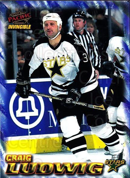 1997-98 Pacific Invincible NHL Regime #62 Craig Ludwig<br/>5 In Stock - $1.00 each - <a href=https://centericecollectibles.foxycart.com/cart?name=1997-98%20Pacific%20Invincible%20NHL%20Regime%20%2362%20Craig%20Ludwig...&quantity_max=5&price=$1.00&code=272998 class=foxycart> Buy it now! </a>