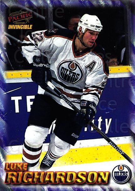 1997-98 Pacific Invincible NHL Regime #82 Luke Richardson<br/>4 In Stock - $1.00 each - <a href=https://centericecollectibles.foxycart.com/cart?name=1997-98%20Pacific%20Invincible%20NHL%20Regime%20%2382%20Luke%20Richardson...&quantity_max=4&price=$1.00&code=273009 class=foxycart> Buy it now! </a>