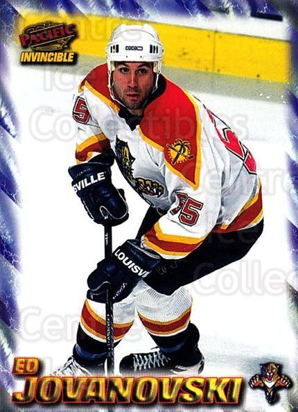 1997-98 Pacific Invincible NHL Regime #85 Ed Jovanovski<br/>5 In Stock - $1.00 each - <a href=https://centericecollectibles.foxycart.com/cart?name=1997-98%20Pacific%20Invincible%20NHL%20Regime%20%2385%20Ed%20Jovanovski...&quantity_max=5&price=$1.00&code=273012 class=foxycart> Buy it now! </a>