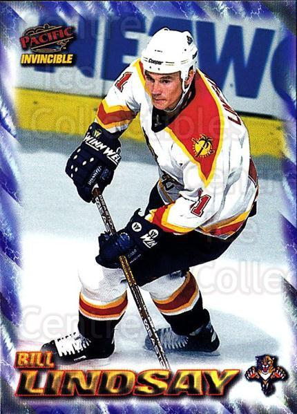 1997-98 Pacific Invincible NHL Regime #86 Bill Lindsay<br/>5 In Stock - $1.00 each - <a href=https://centericecollectibles.foxycart.com/cart?name=1997-98%20Pacific%20Invincible%20NHL%20Regime%20%2386%20Bill%20Lindsay...&quantity_max=5&price=$1.00&code=273013 class=foxycart> Buy it now! </a>