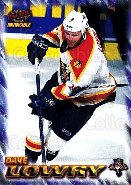 1997-98 Pacific Invincible NHL Regime #87 Dave Lowry<br/>3 In Stock - $1.00 each - <a href=https://centericecollectibles.foxycart.com/cart?name=1997-98%20Pacific%20Invincible%20NHL%20Regime%20%2387%20Dave%20Lowry...&quantity_max=3&price=$1.00&code=273014 class=foxycart> Buy it now! </a>