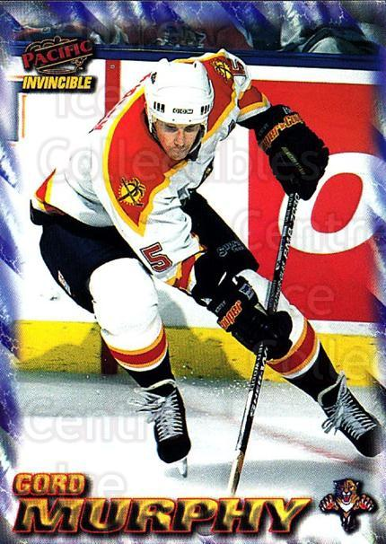 1997-98 Pacific Invincible NHL Regime #88 Gord Murphy<br/>4 In Stock - $1.00 each - <a href=https://centericecollectibles.foxycart.com/cart?name=1997-98%20Pacific%20Invincible%20NHL%20Regime%20%2388%20Gord%20Murphy...&quantity_max=4&price=$1.00&code=273015 class=foxycart> Buy it now! </a>