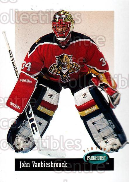 1994-95 Parkhurst Vintage #13 John Vanbiesbrouck<br/>1 In Stock - $1.00 each - <a href=https://centericecollectibles.foxycart.com/cart?name=1994-95%20Parkhurst%20Vintage%20%2313%20John%20Vanbiesbro...&quantity_max=1&price=$1.00&code=273058 class=foxycart> Buy it now! </a>